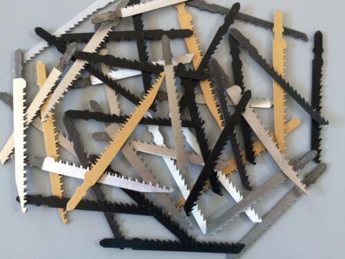 40 Stichsägeblätter T-Schaft  Stichsäge für schnelle saubere Schnitte in Holz