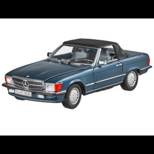 1 18 Norev 183466 1986 Mercedes 300 Sl R107 Cabrio Limitado Edición 1000 Pzs.