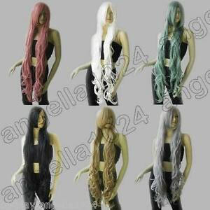 Synthetic-Heat-Resistant-40-in-Layer-Wavy-100cm-Long-Cosplay-Wigs-Free-Shipping