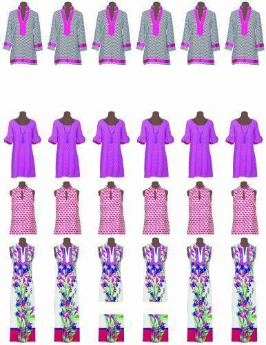 Interchangeable Pieces The Tunic Bible Ready-to-Wear Results! One Pattern