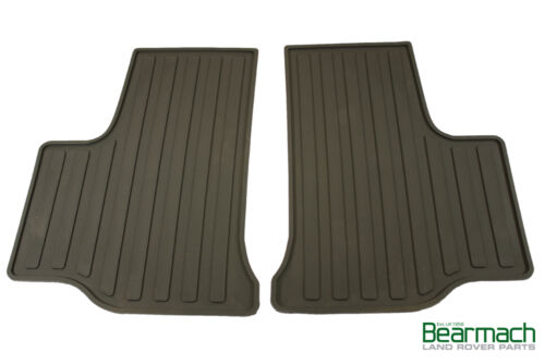 Range Rover L322 Bearmach Pair of Rear Rubber Floor Mats 2002-2012