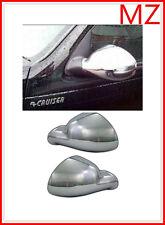 For 06-10 Chrysler PT Cruiser Chrome Rear View Full Mirror Covers Caps