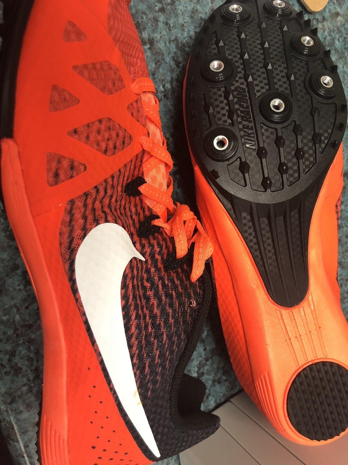 pretty nice ae990 3ed99 Nike Zoom Rival M 8 Men Men Men Track Sprint Spikes 806555 811 Orange Size  13