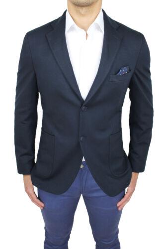 Italy Tag Fb Uomo 100 Made Xl L Blazer M Class Elegante Giacca Blu Sartoriale wx0vd5XnXR