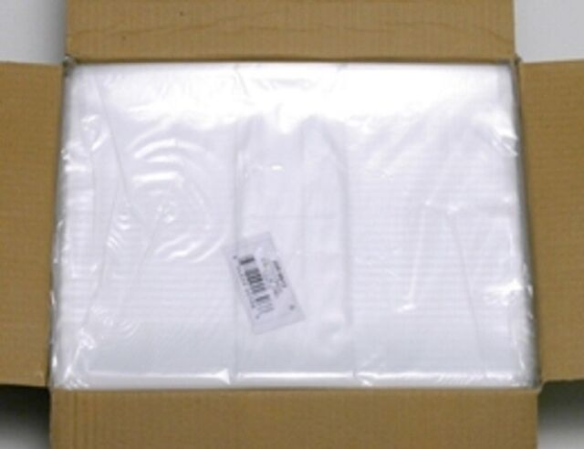 EcoBox Poly Bag 2mil Clear V-6120 2 x 10 Inches 1000 per Case Flat
