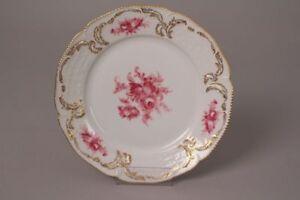Rosenthal-Sanssouci-43-Cake-Plate-Plate-Serviceteil-Porcelain-Roses-Gold-Rim