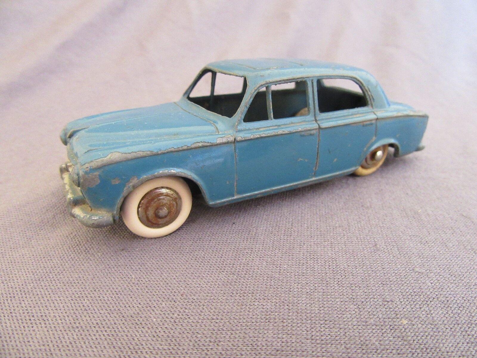 553F Vintage Dinky 24B Peugeot 403 bluee 1 43 Meccano
