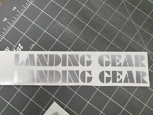SE Racing Landing Gear Forks Black Decals PK Ripper Quadangle