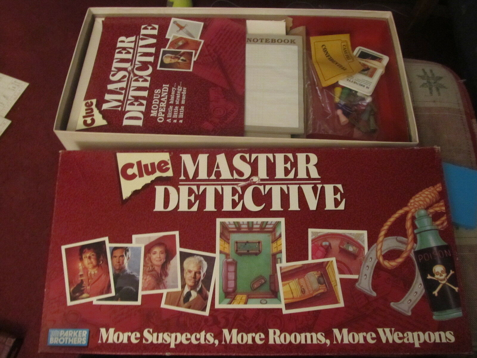 Clue Master Detective COMPLETE Parker Brothers