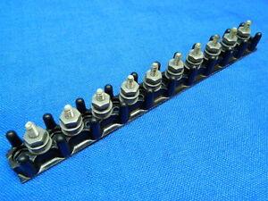 Morsettiera terminal board Kulka 10 posti passo 11mm  130x28x13
