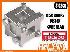TOLEDO Disc Brake Piston Cube Rear 310269