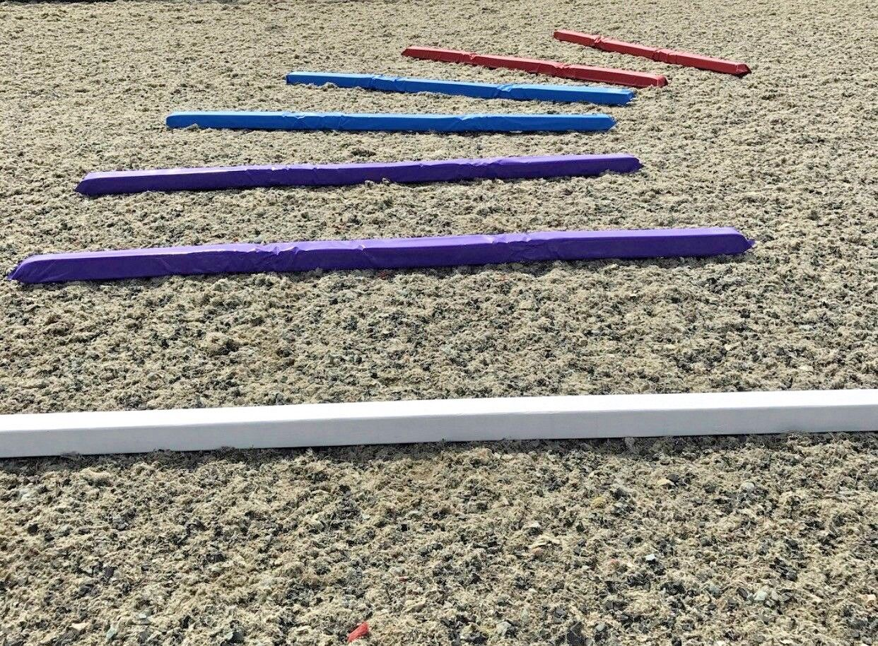 Soft poles Flexi Pole Training poles Show Jump Soft Poles 3m - Made In Britain