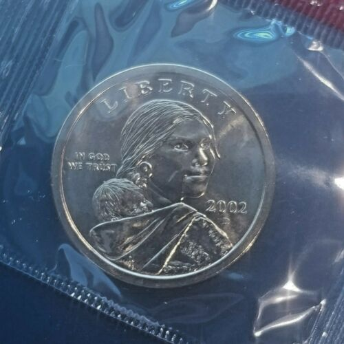 3 Coins FREE SHIP PROOF 2003 P D S GEM  BU Sacagawea Dollar  in mint cello