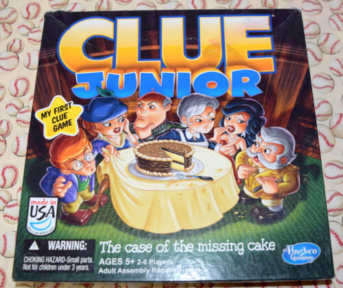Clue Junior Board Game Replacement Parts /& Pieces 2014 Hasbro Jr