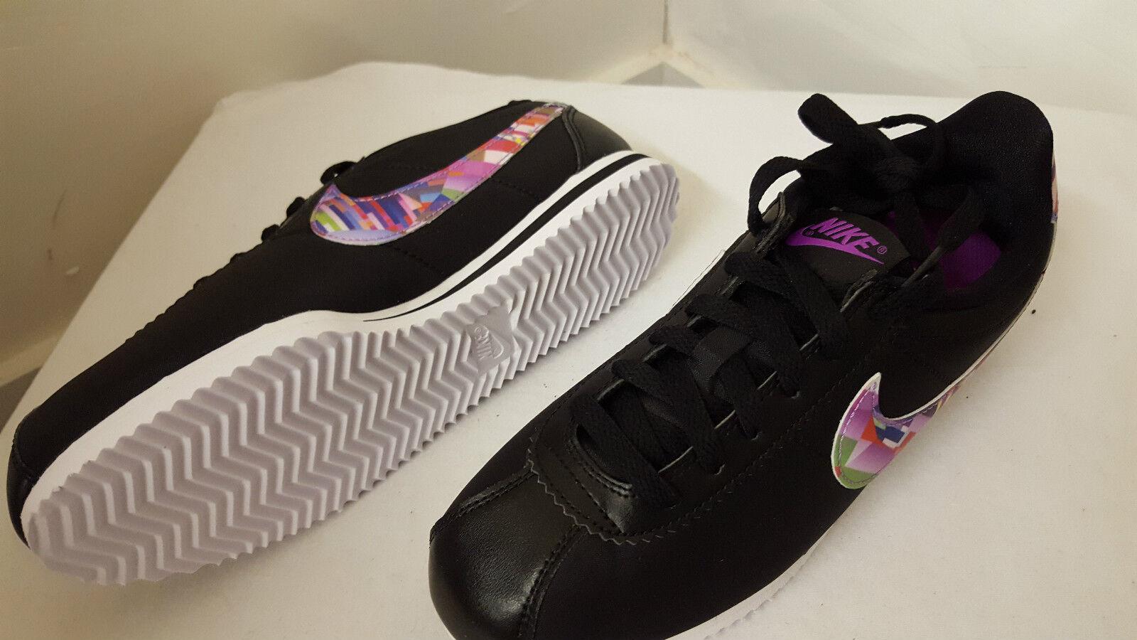 Bnib nike donne   bambini neri cortez nylon nylon nylon print (gs) rif 859564 001 | Altamente elogiato e apprezzato dal pubblico dei consumatori  e55579