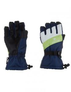 Rip-Curl-RIDER-GLOVES-MENS-Snowboard-Ski-Waterproof-Snow-Glove-New-SCGAB4-Blue