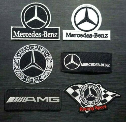MERCEDES BENZ SPORTS RACING CAR MOTOR AMG CAP Embroidered Patch Iron On Sew Logo