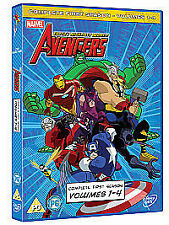 Avengers - Earth's Mightiest Heroes - Vols.1-4 - Complete (DVD, 2012, Box Set)