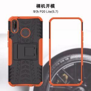 Pour-Huawei-P20-Lite-Nova-3E-Antichoc-Hybride-Robuste-Armure-Coque-Etui-Stand