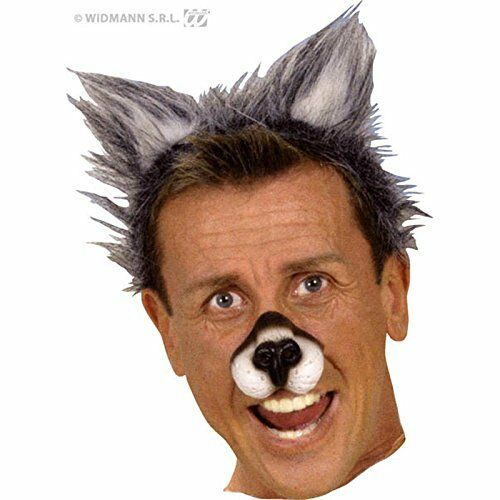 Plush Wolf Ears Accessory for Animal Fancy Dress