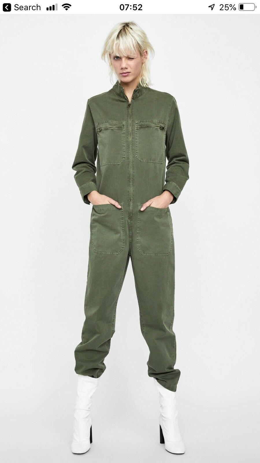 d8e5737587c8 Zara Worker jumpsuite Size S nnvbwb3928-Jumpsuits & Playsuits - www ...