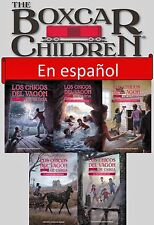 SPANISH Boxcar Children Series Collection Books 1-5 Paperback Gertrude Warner