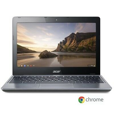 "Acer C720-2103 11.6"" LED Chromebook Intel Celeron Dual Core 1.4Ghz 2GB 16GB SSD"