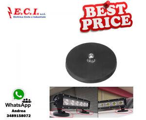 M8-forte-magnete-Base-montaggio-Staffa-con-gomma-Pad-per-LED-Work-Light-Bar