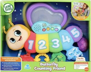 Bnib LeapFrog Butterfly Counting Friend Baby Toy Baby Musical Toy Sounds New