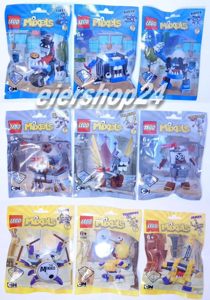 Kompletter Satz LEGO® MIXELS Serie 7 komplett neu & OVP