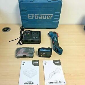 EFC18-Li 4.0Ah Battery *KIT* Jig Saws Jig & Scroll Power Saws Erbauer EXT 18V Cordless Multi-Tool EMT18-Li-QC