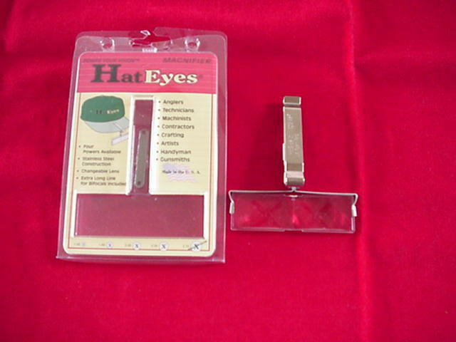 Mag Eye Magnifiers Hat Eyes 2.25 Power GREAT NEW