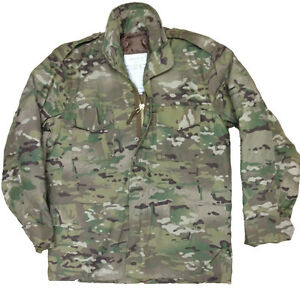 96faab9e483ae MULTI-CAM US M65 FIELD JACKET QUILTED LINER MENS MTP MILITARY ARMY ...