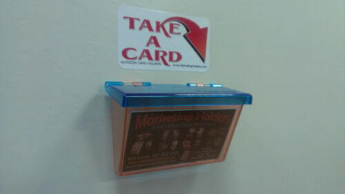 Three Outdoor Business Card Holders Vehicles Adbox