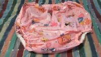 Adult Abdl Large Pink Plastic Panties For Your Big Baby