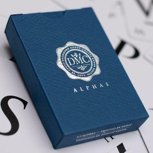 DMC Alphas Playing Cards Blue Magic Optical Marking System Deck