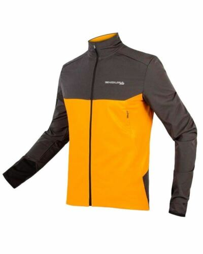 Endura MT500 Therm Long Manches Jersey MANGO ANTHRACITE Grey TAILLE M