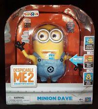 Despicable ME2 Me 2 Talking Minion Dave Collector's Edition Interactive Figure