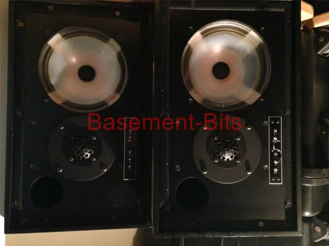 Rogers LS 5/9 Pair (2) of ref grade 1 monitor speakers black ash finish TESTED