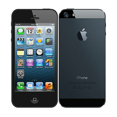 Apple iPhone 5 - 16GB 32GB 64GB - Unlocked SIM Free Smartphone Various Colours