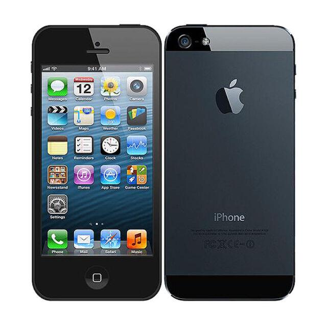 82b955e05 Apple iPhone 5 - 64GB - Black   Slate (O2) A1429 (GSM) for sale ...