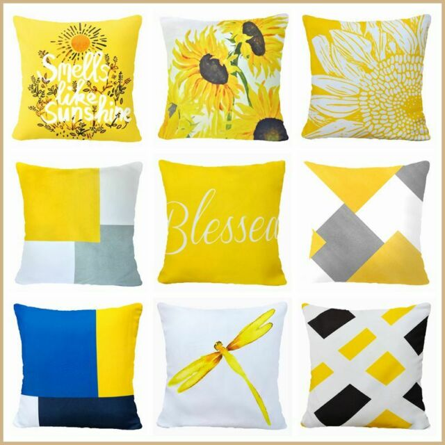 Sunflower Blooms Pillow Cover For Sale Online Ebay