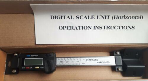 "300mm//12/""  Horizontal Digital Scale"