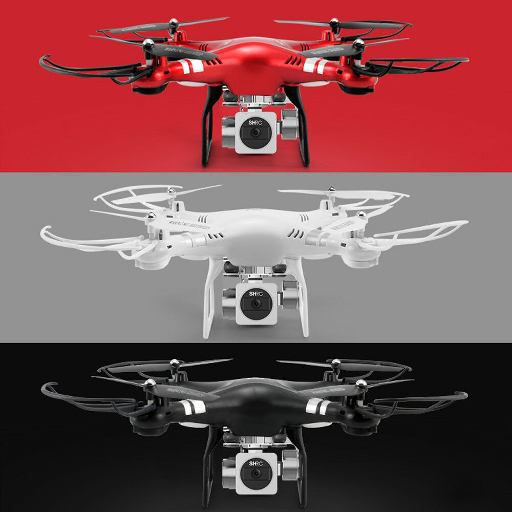 HR SH5HD 1080P HD Camera Quadcopter WiFi FPV Live Helicopter Hover RC Drone KZ