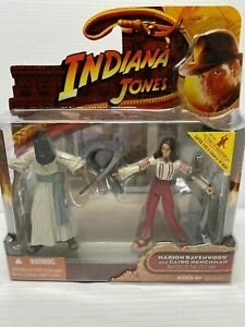 2008-HASBRO-INDIANA-JONES-Marion-Ravenwood-and-Cario-Hen-RAIDERS-OF-THE-LOST-ARK