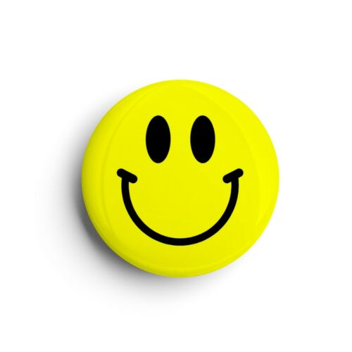 Smiley FaceEmoji BadgeButton Pin25mm 1 Inch