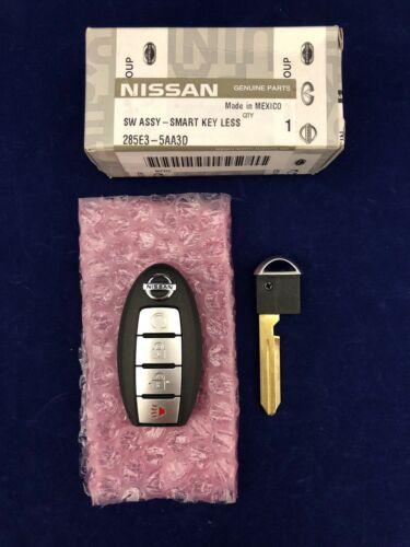 New OEM Nissan Smart Prox Keyless Entry Remote W//Key 285E3-5AA3D KR5S180144014