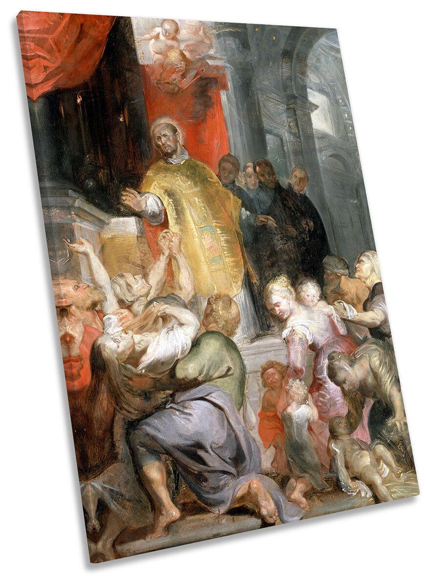 Rubens Miracoli di Sant 'Ignazio 'Ignazio 'Ignazio di Loyola Loyola art. a muro foto ritratto stampa 195859