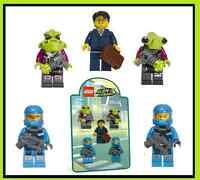 Lego Alien Conquest Ship Battle Pack 853301 5 Minifig Lot Astronaut Laser Gun