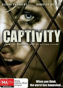 NEW-SEALED-CAPTIVITY-DVD-2008-REGION-4-PAL